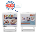 Timbro Printer 20 G7 autoinchiostrante 14x38mm Protect KIDS Microban Colop