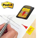 """SEGNAPAGINA POST-IT 680-31 SIMBOLO """"FIRMA QUI"""" INDEX 50FG"""