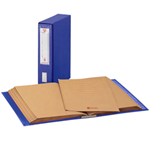 KING MEC CLASSIFICATORE ALFABETICO MEC 20 BLU 23X32CM, DORSO 8.5CM