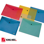 KING MEC BUSTA CON BOTTONE PULL COLORATA 21X29.7CM