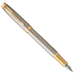 STILOGRAFICA IM PREMIUM WARM GREY METAL CHISELLED M PARKER