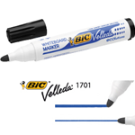 MARCATORE P.TONDA 1.5MM NERO Whiteboard VELLEDA® 1701 Recycled BIC®