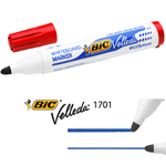 MARCATORE P.TONDA 1.5MM ROSSO Whiteboard VELLEDA® 1701 Recycled BIC®