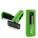 Timbro Pocket Stamp Plus 30 18x47mm 5righe autoinchiostrante verde COLOP