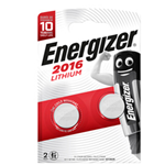 Blister 2 pile CR2016 Lithium - Energizer Specialistiche