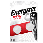 Blister 2 pile CR2430 Lithium - Energizer Specialistiche