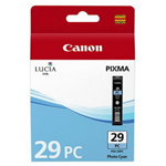 CANON CARTUCCIA CIANO PHOTO LUCIA PGI-29PC PIXMA PRO 1