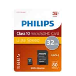 PHILIPS MICRO SDHC CARD 32GB CLASS 10 INCL. ADAPTER